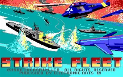 Strike Fleet - Screenshot - Game Title