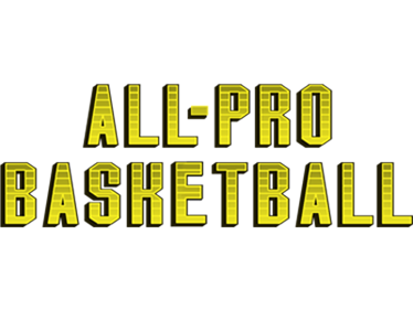 All-Pro Basketball - Clear Logo