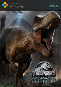 Jurassic World Evolution - Fanart - Box - Front