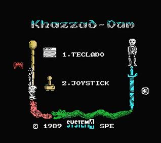 Khazzad-Dum - Screenshot - Game Select