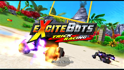 ExciteBots: Trick Racing - Screenshot - Game Title