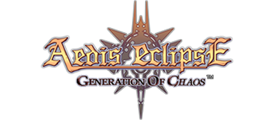 Aedis Eclipse: Generation of Chaos - Clear Logo