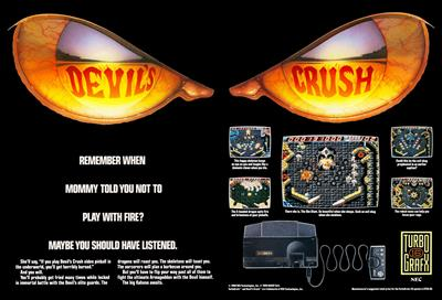 Devil's Crush - Advertisement Flyer - Front