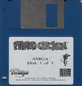 Alfred Chicken - Disc