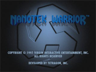 Nanotek Warrior - Screenshot - Game Title