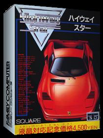 Rad Racer - Box - 3D