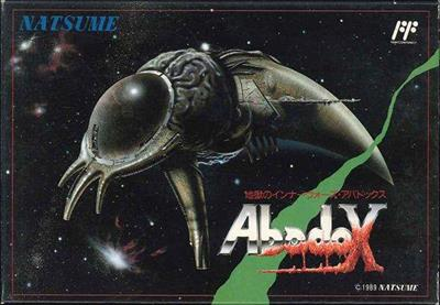 Abadox: The Deadly Inner War - Box - Front