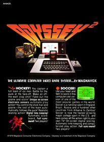 Hockey / Soccer - Box - Back