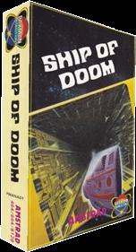 Adventure C: Ship of Doom - Box - 3D