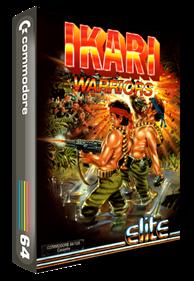 Ikari Warriors (Europe) - Box - 3D