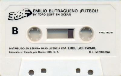 Emilio Butragueno Futbol - Cart - Front