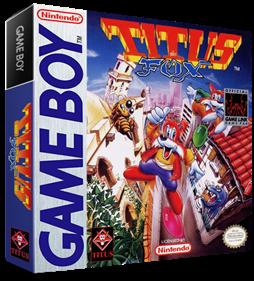 Titus the Fox - Box - 3D