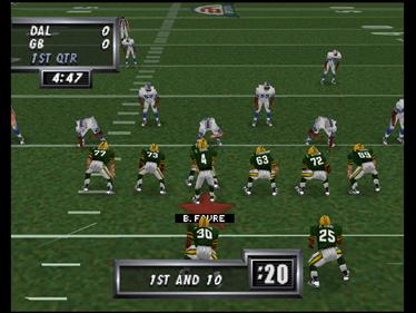 Madden Football 64 - Screenshot - Gameplay