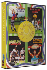 Champions - Box - 3D