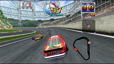 Daytona USA 2: Battle on the Edge - Screenshot - Gameplay