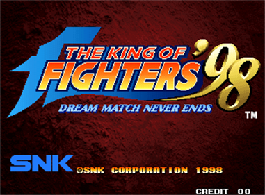The King of Fighters '98: The Slugfest - Screenshot - Game Title