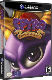 Spyro: Enter the Dragonfly - Box - 3D