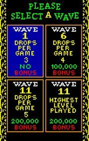 Klax - Screenshot - Game Select