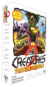 Creatures 2: Torture Trouble - Box - 3D