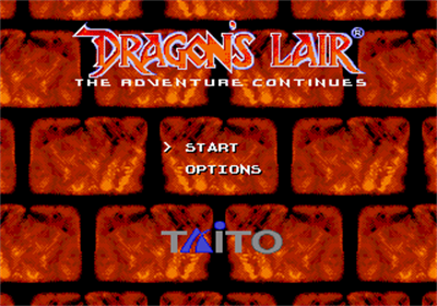 Dragon's Lair: The Adventure Continues - Screenshot - Game Title