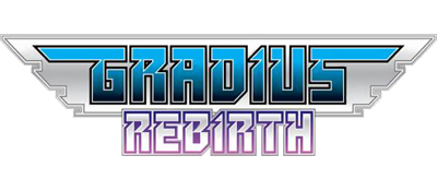 Gradius ReBirth - Clear Logo