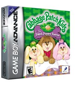 Cabbage Patch Kids: The Patch Puppy Rescue - Box - 3D