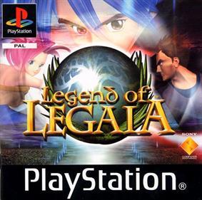 Legend of Legaia - Box - Front
