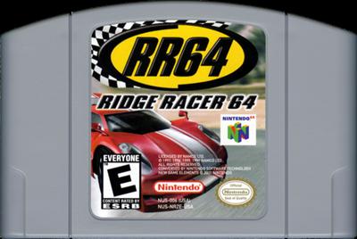 RR64: Ridge Racer 64 - Cart - Front