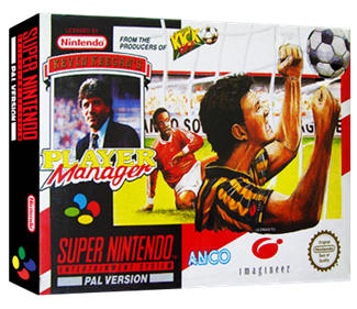 Kevin Keegan's Player Manager - Box - 3D