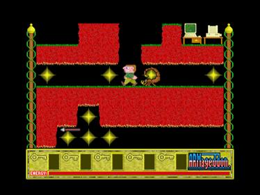 Bobby Blockhead vs the Dark Planet - Screenshot - Gameplay