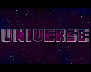 Universe - Screenshot - Game Title