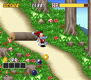 Kid Klown in Crazy Chase - Screenshot - Gameplay