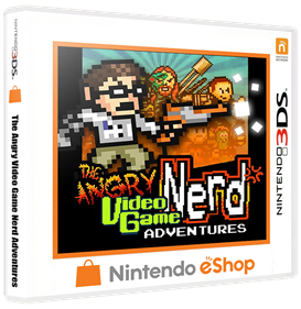 The Angry Video Game Nerd Adventures - Box - 3D