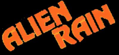 Alien Rain - Clear Logo