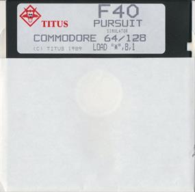 F40 Pursuit - Disc