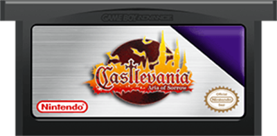 Castlevania: Aria of Sorrow - Cart - Front