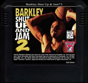 Barkley: Shut Up and Jam! 2 - Cart - Front