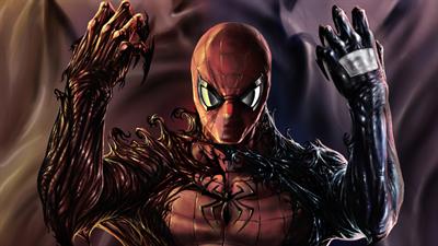 Spider-Man Venom: Maximum Carnage - Fanart - Background