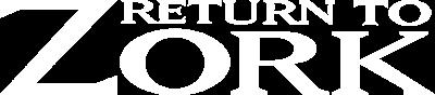 Return To Zork - Clear Logo