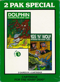 2 Pak Special: Dolphin / Pigs 'N' Wolf