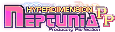 Hyperdimension Neptunia: Producing Perfection - Clear Logo
