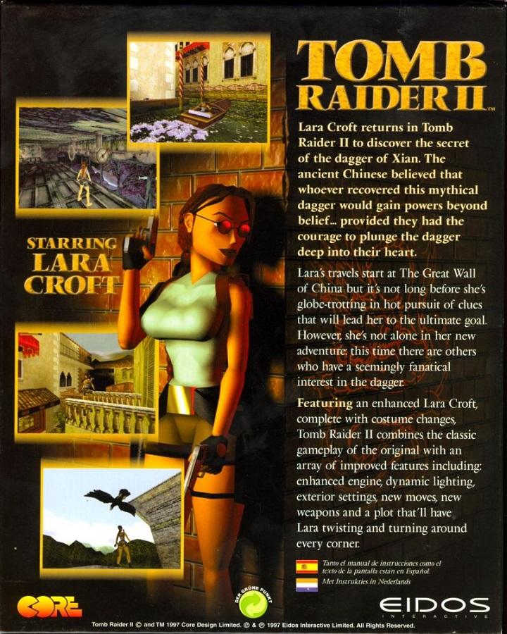 Tomb Raider II (HD Mod) - #10 The Deck - YouTube
