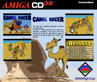 Camel Racer - Box - Back