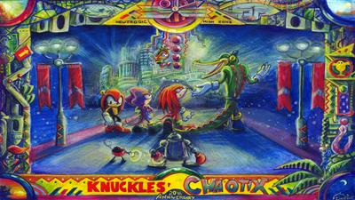 Knuckles' Chaotix - Fanart - Background