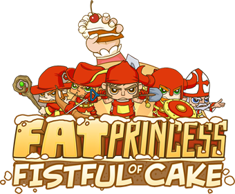 Fat Princess: Fistful of Cake - Clear Logo