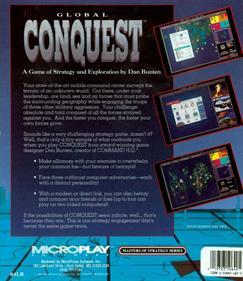 Global Conquest - Box - Back