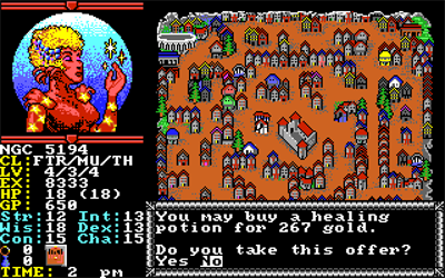 Hillsfar - Screenshot - Gameplay