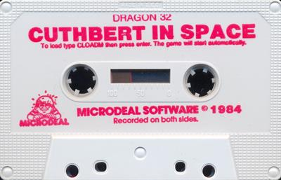 Cuthbert in Space - Cart - Front