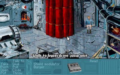 Rex Nebular and the Cosmic Gender Bender - Screenshot - Gameplay