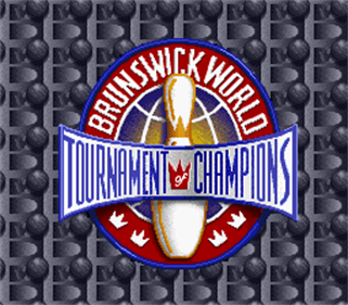 Brunswick World: Tournament of Champions - Screenshot - Game Title